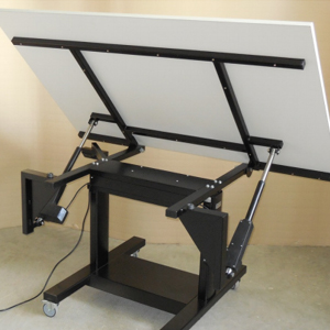 table motorisé