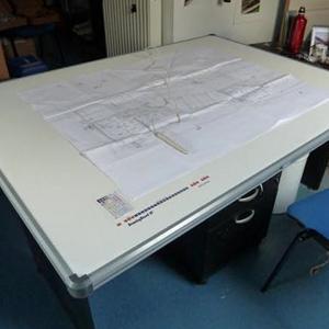 Table à digitaliser format A0