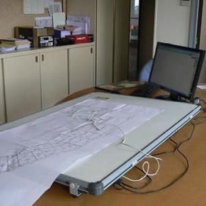 Table à digitaliser format A1